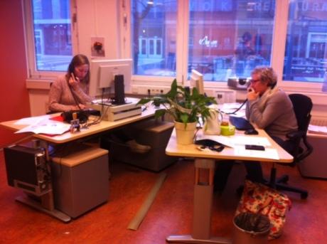 BEL-team aan het werk